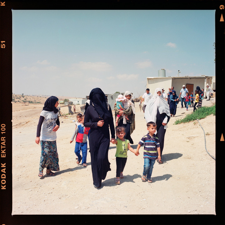 Protest in Umm Al-Hiran against destruction and evacuation