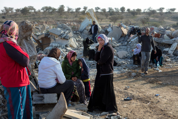 House Demolitions in Umm Al-Hieran
